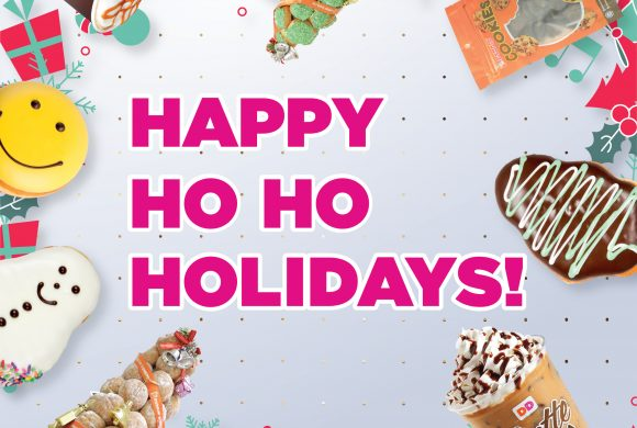 Dunkin Donuts Christmas promo