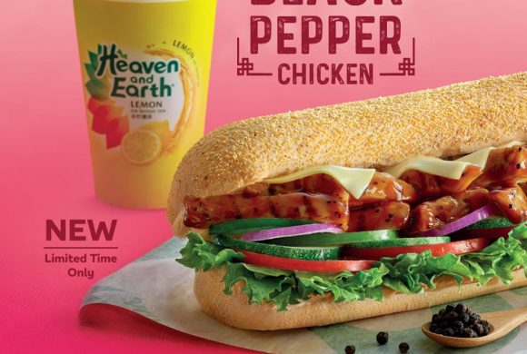 Subway Black Pepper Chicken