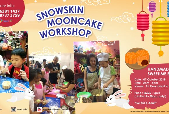 Snowskin Mooncake Workshop