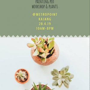 Mother's Day Painting Pot Workshops & Plants