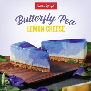 Butterfly Pea Lemon Cheese Secret Recipe