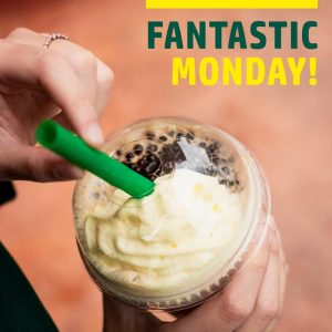 STARBUCKS MONDAY PROMO