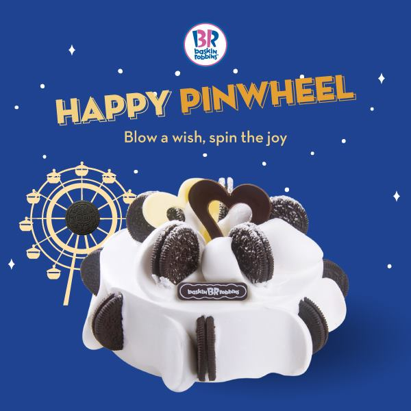 BASKIN ROBBINS HAPPY PINWHEEL