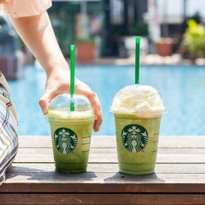 GREEN TEA STARBUCKS