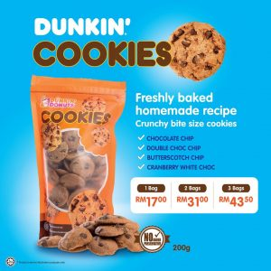 DUNKIN' DONUTS' COOKIES