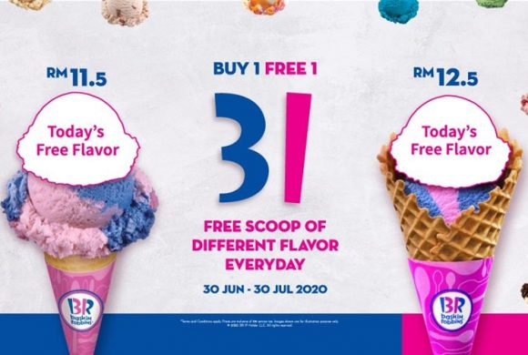 BASKIN ROBBINS PROMO FREE ONE SCOOP