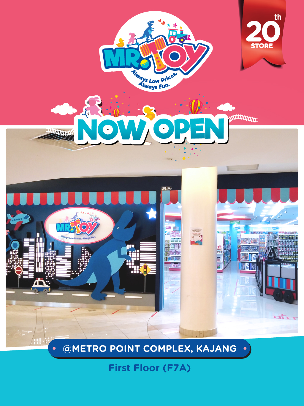 MR TOY GRAND OPENING
